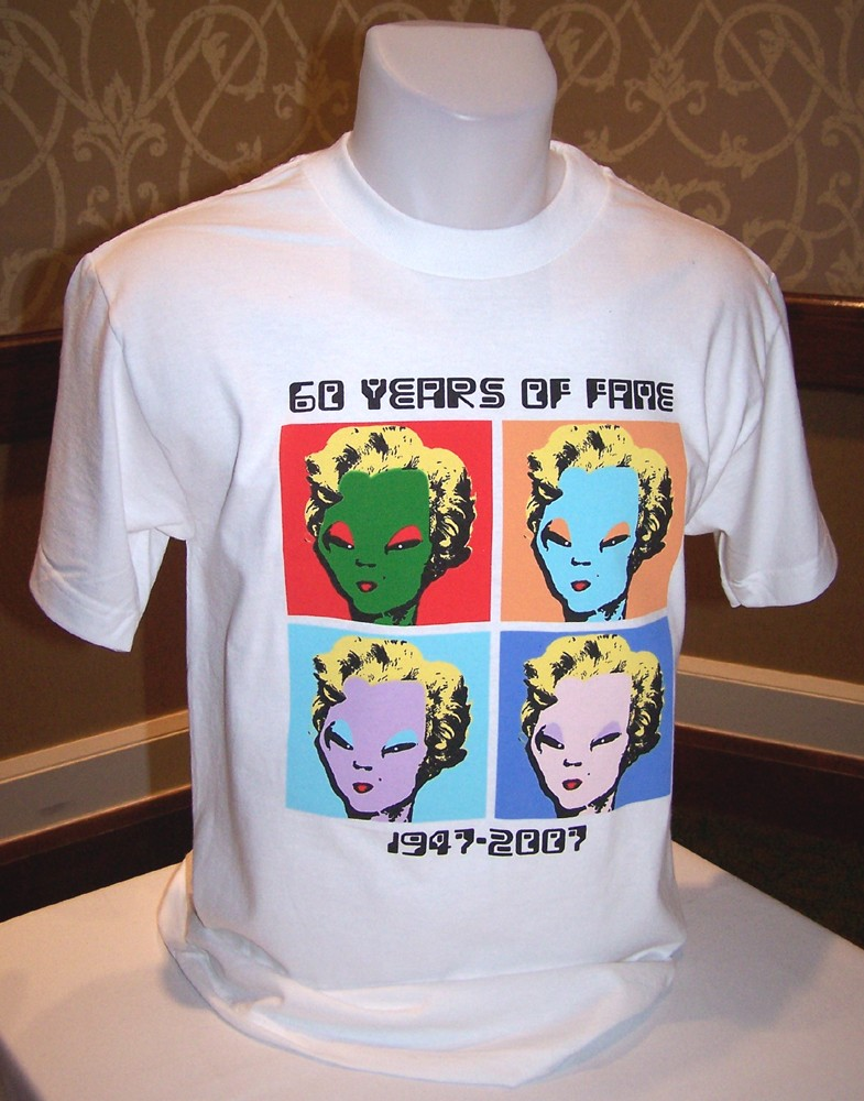 Alien Marilyn T-shirt