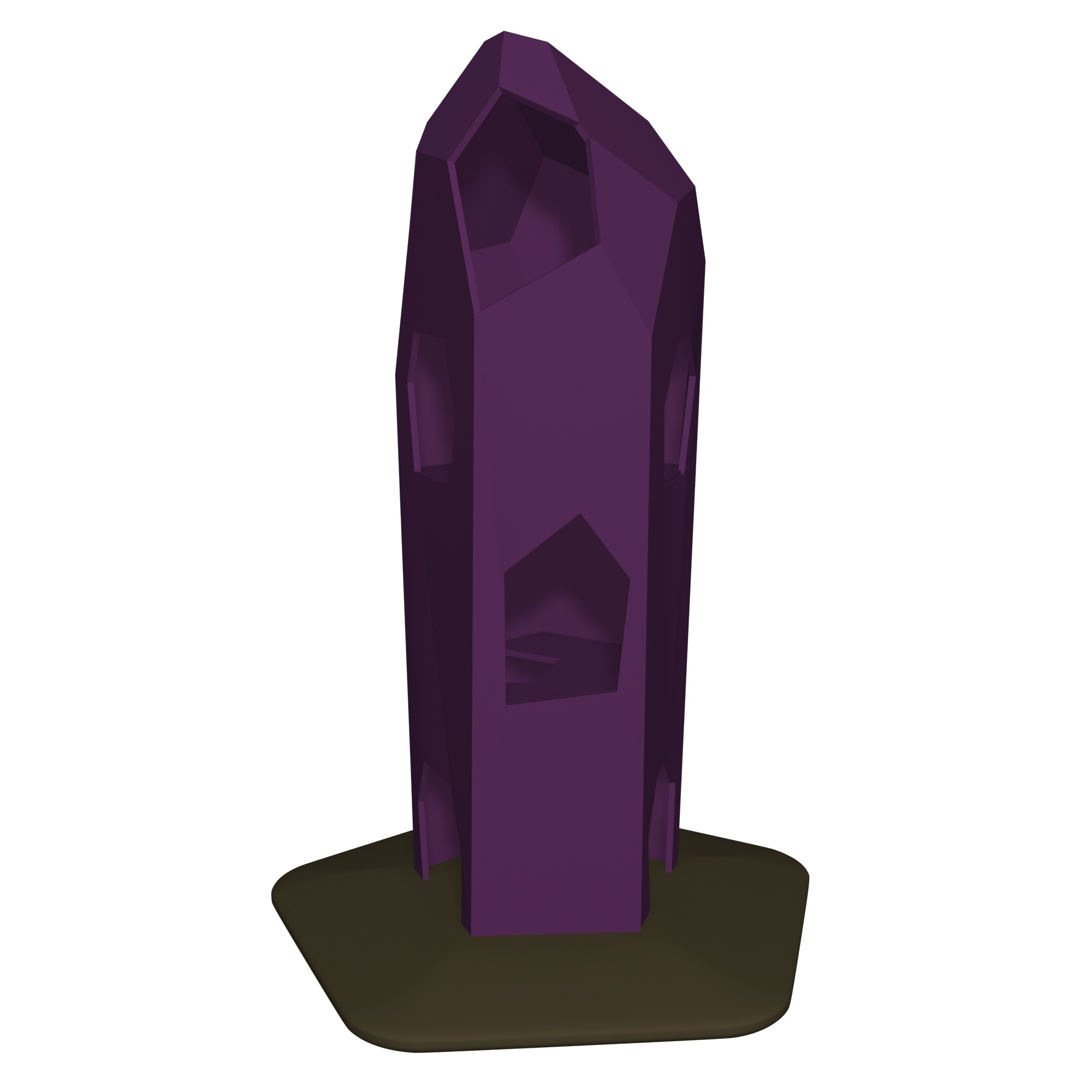 Amethyst Crystal Tower