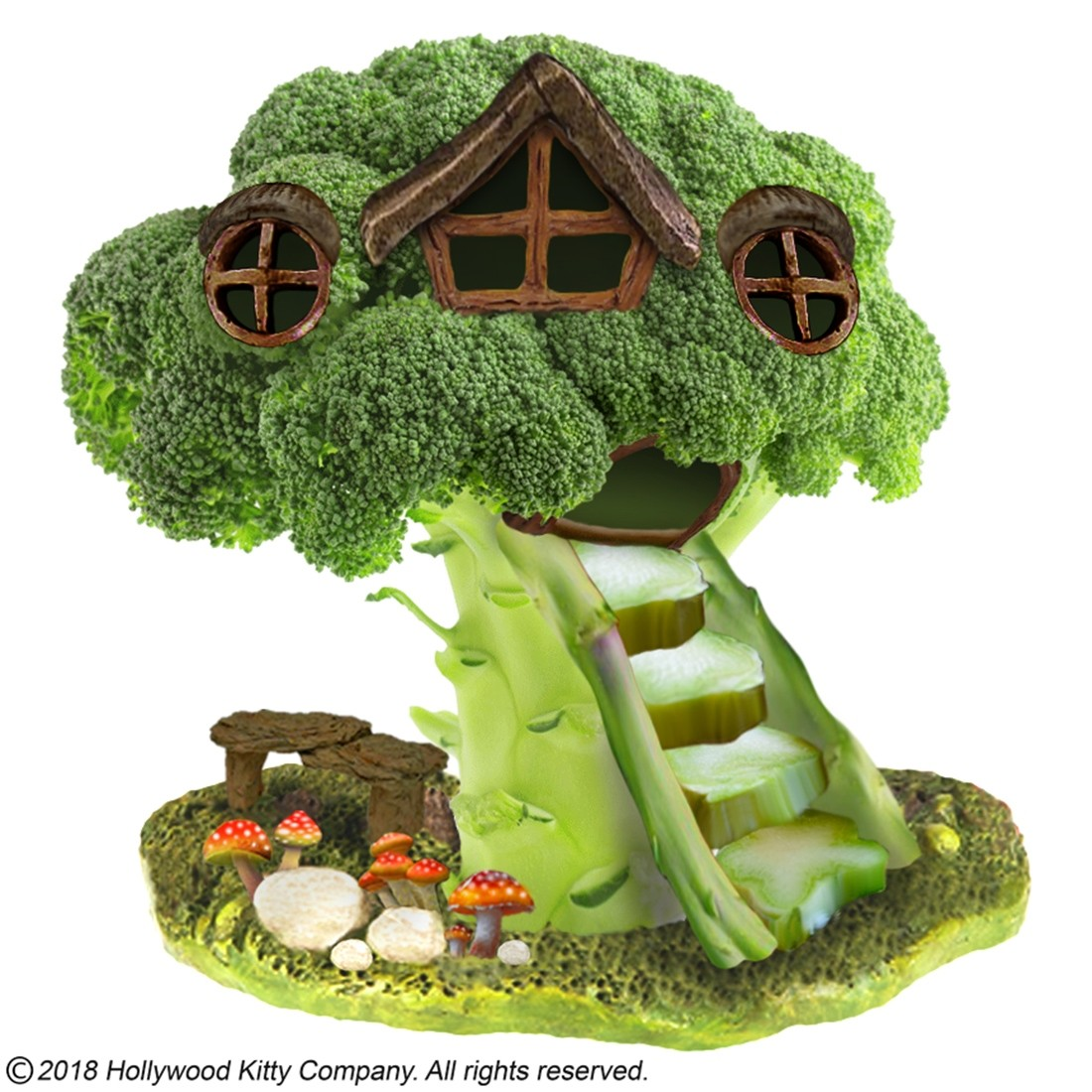 Hammy-Town Broccoli Treehouse