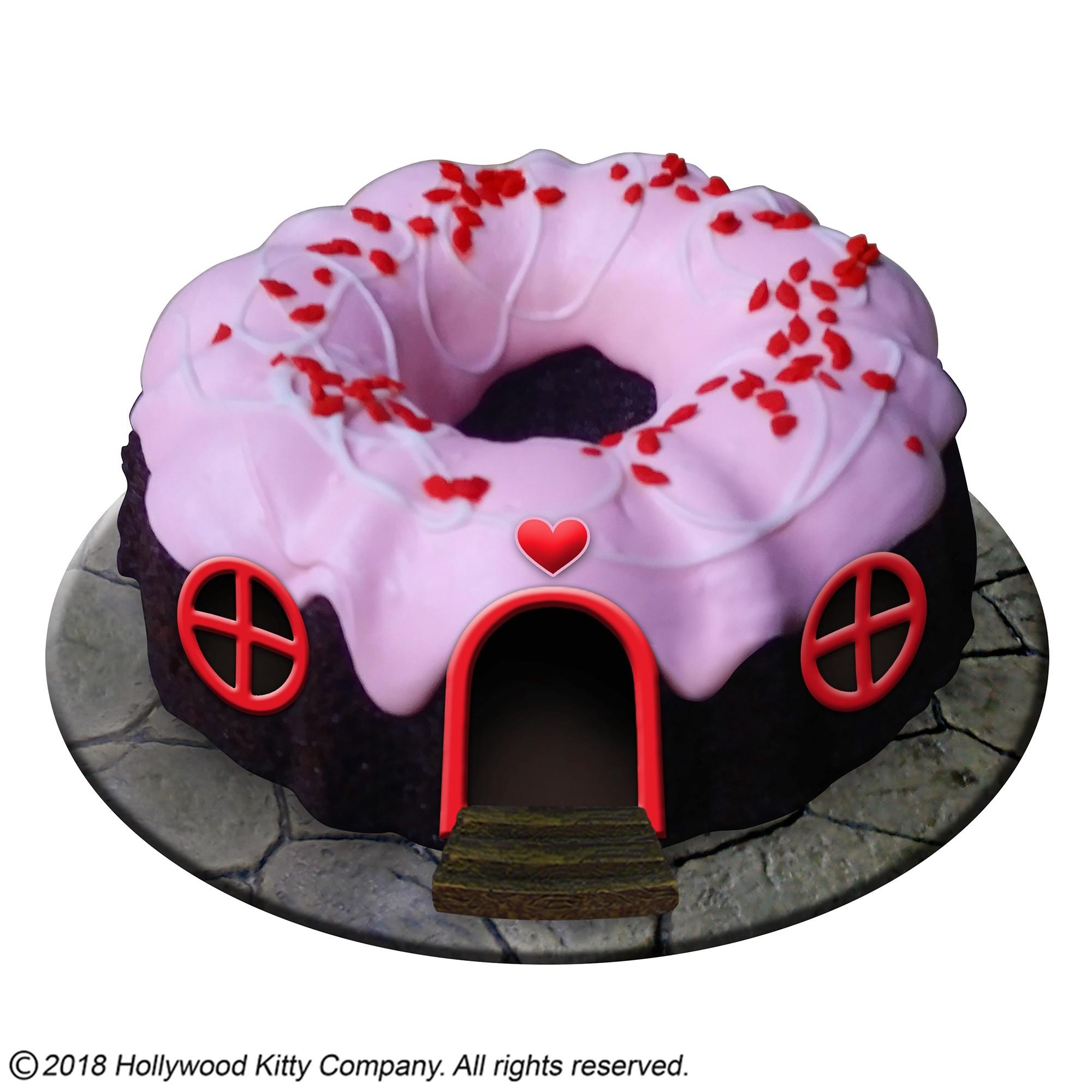 Hammy-Town Bundt Cake Cottage