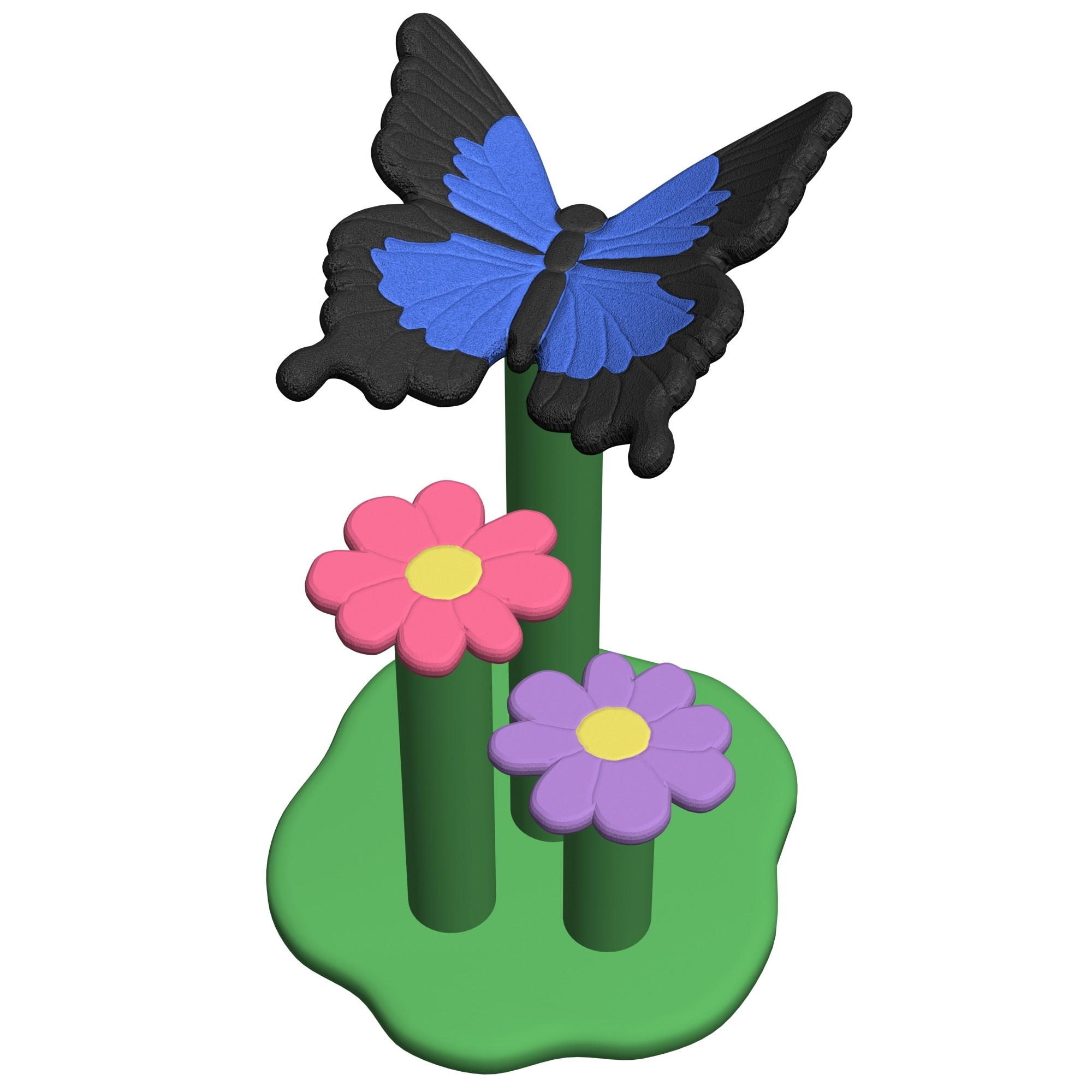 Swallowtail Butterfly Perch