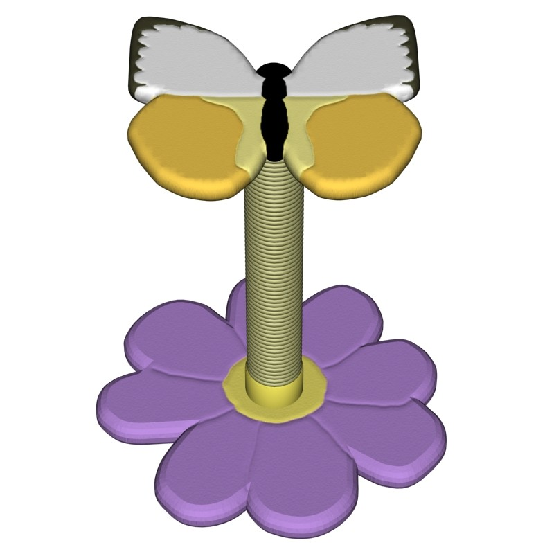 Butterfly Scratch Post