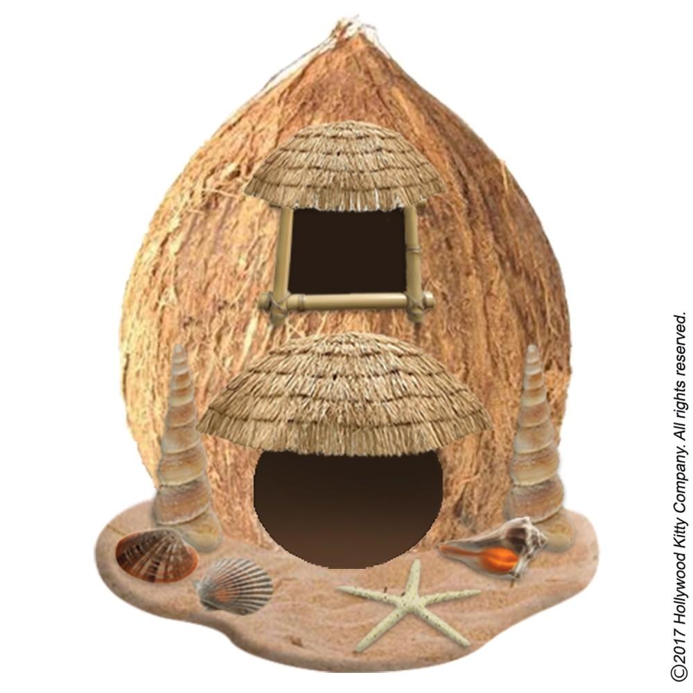Hammy-Town Coconut Cabaña