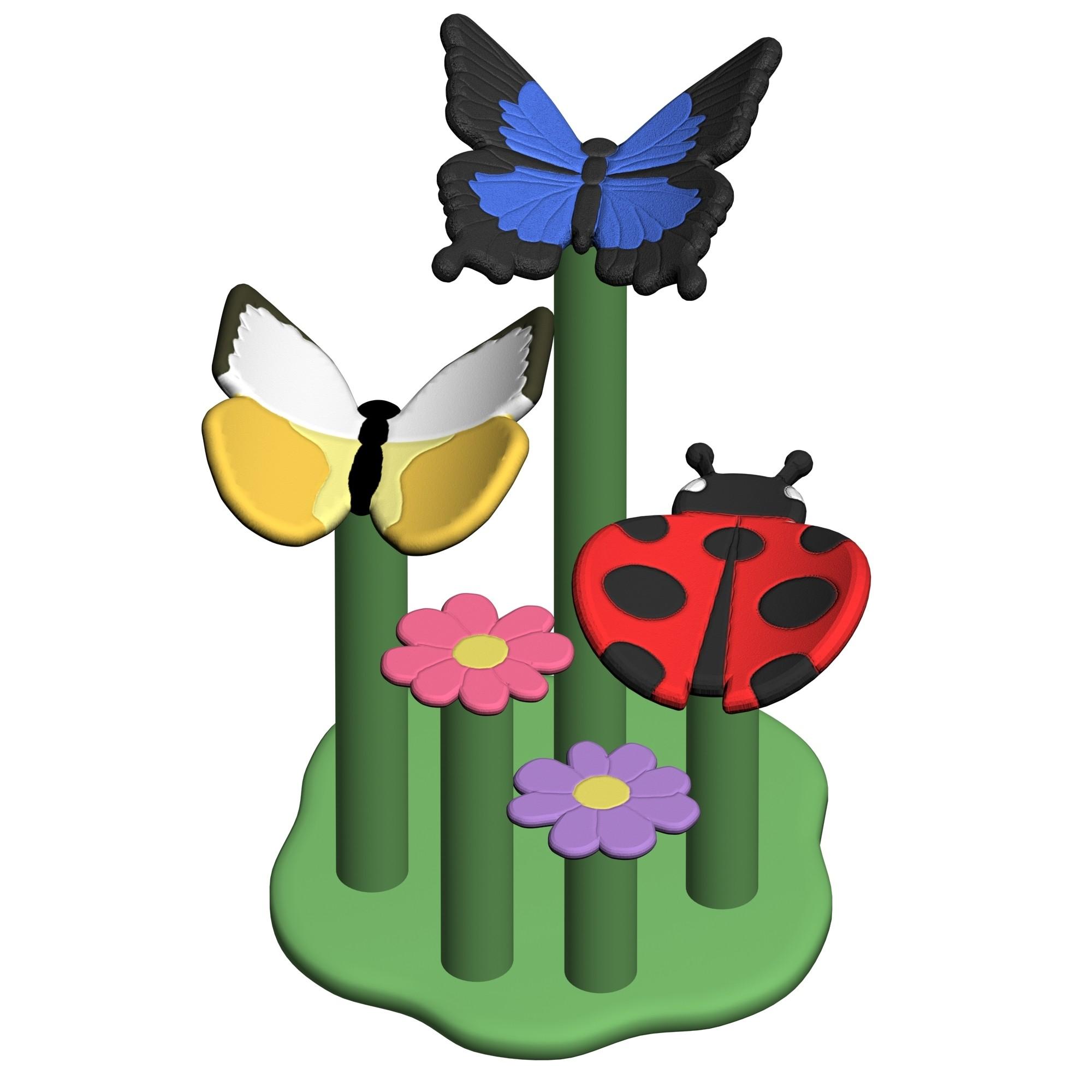 Butterfly Garden Perch