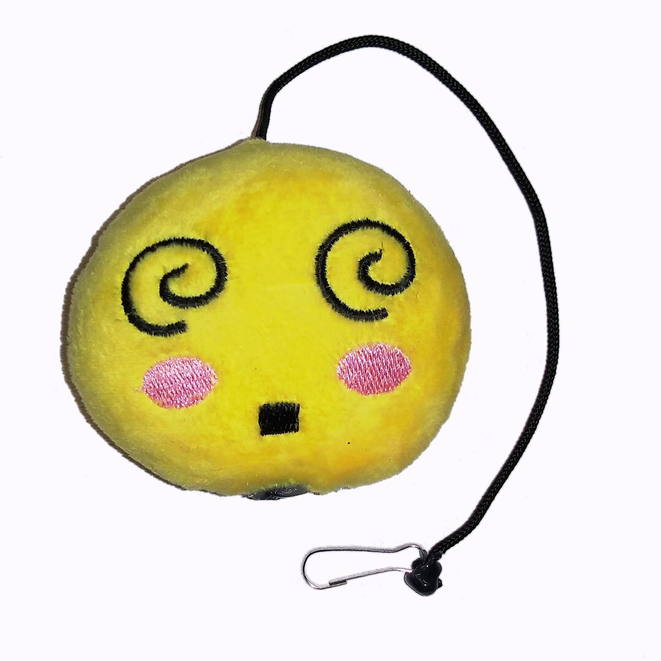 Emoji Dizzy Cat Toy