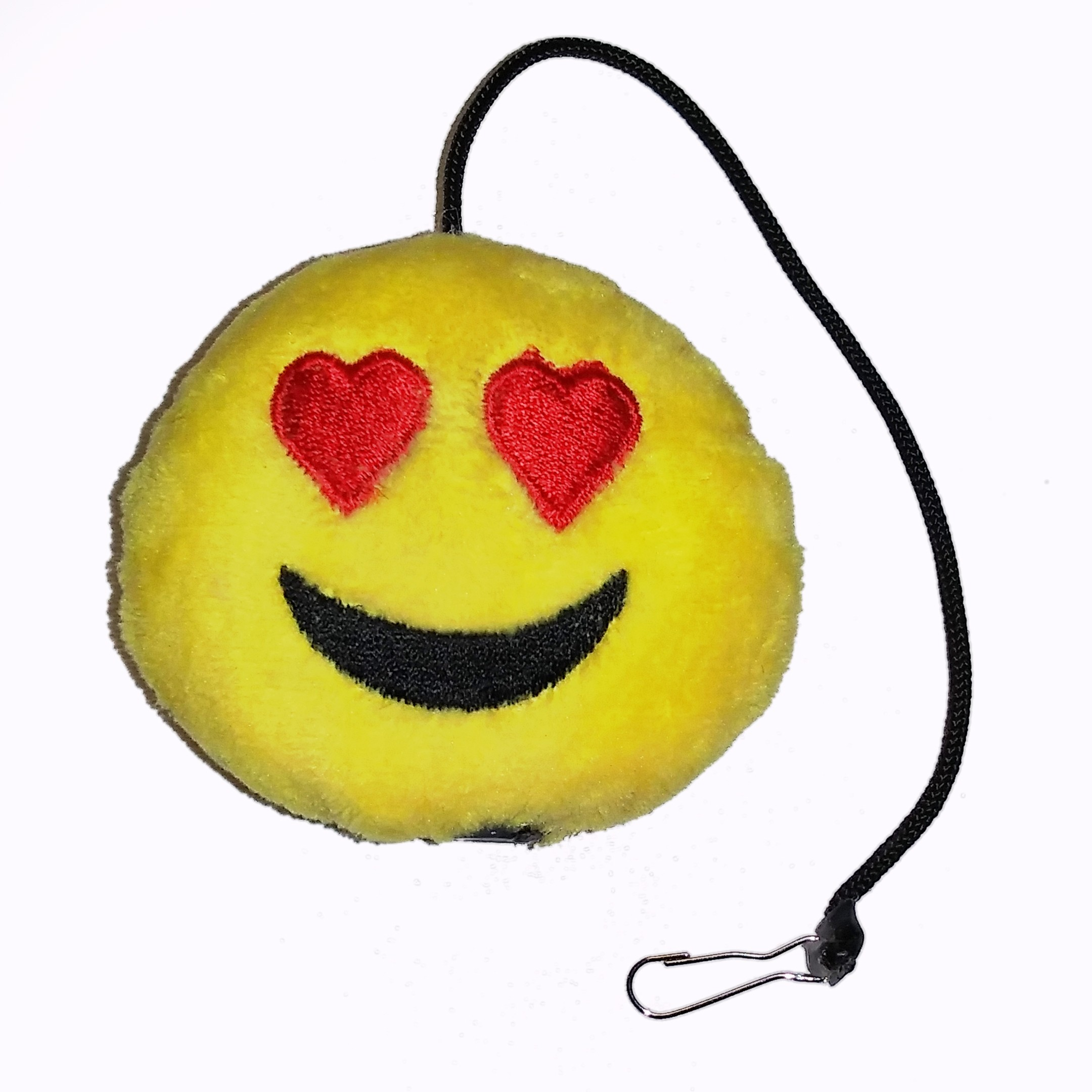 Emoji Heart Eyes Cat Toy