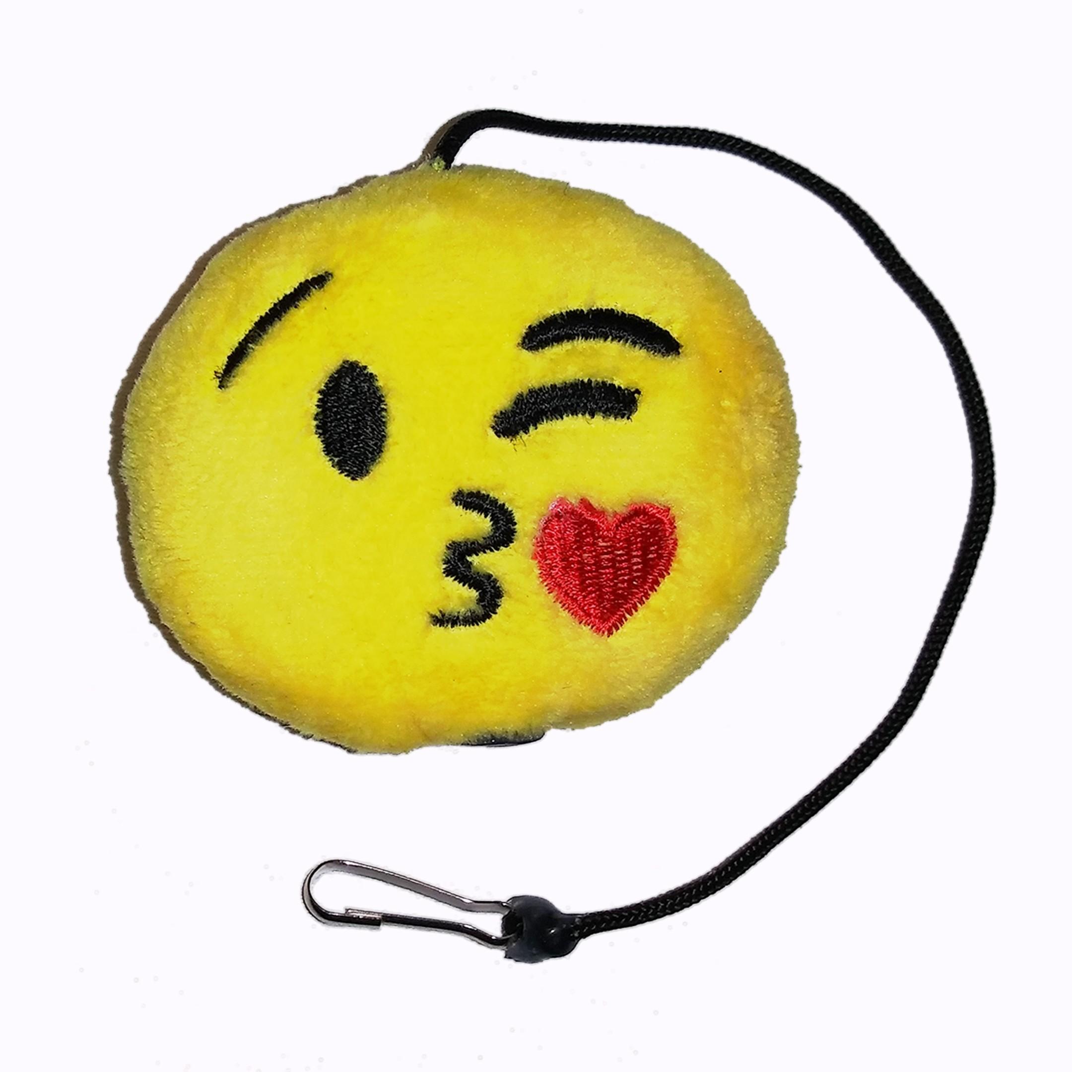 Emoji Kissing Cat Toy