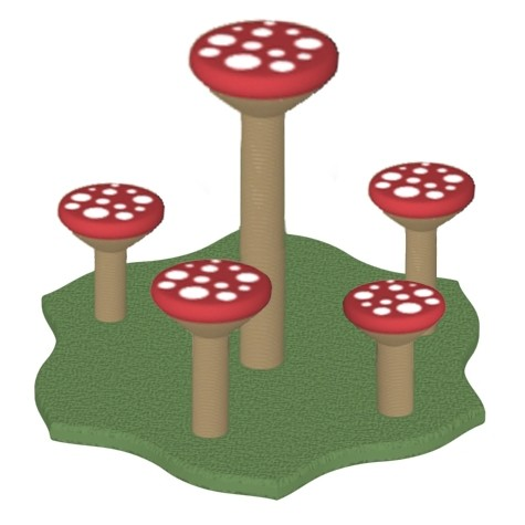 Enchanted Mushroom Patch