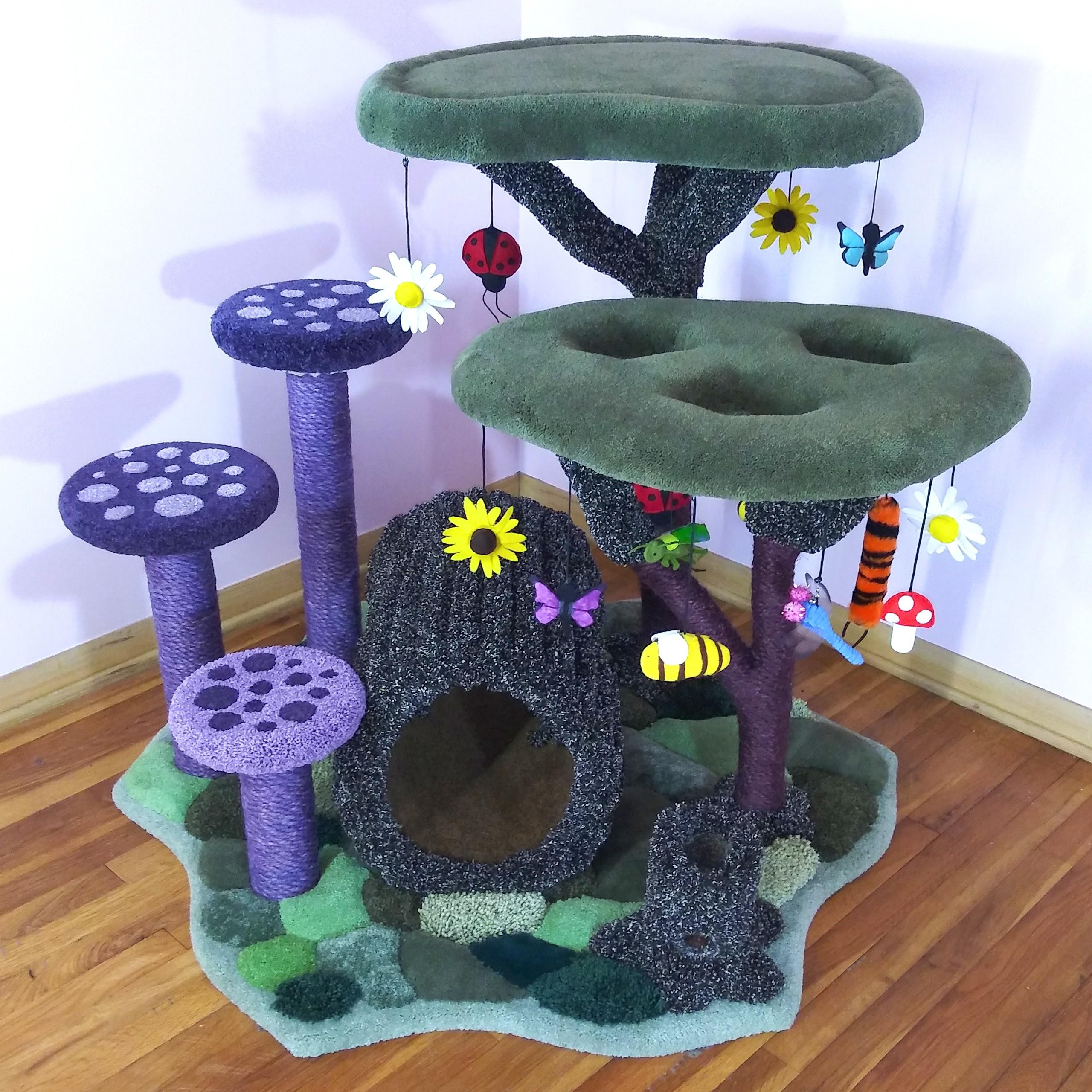 Enchanted Kitty Playground