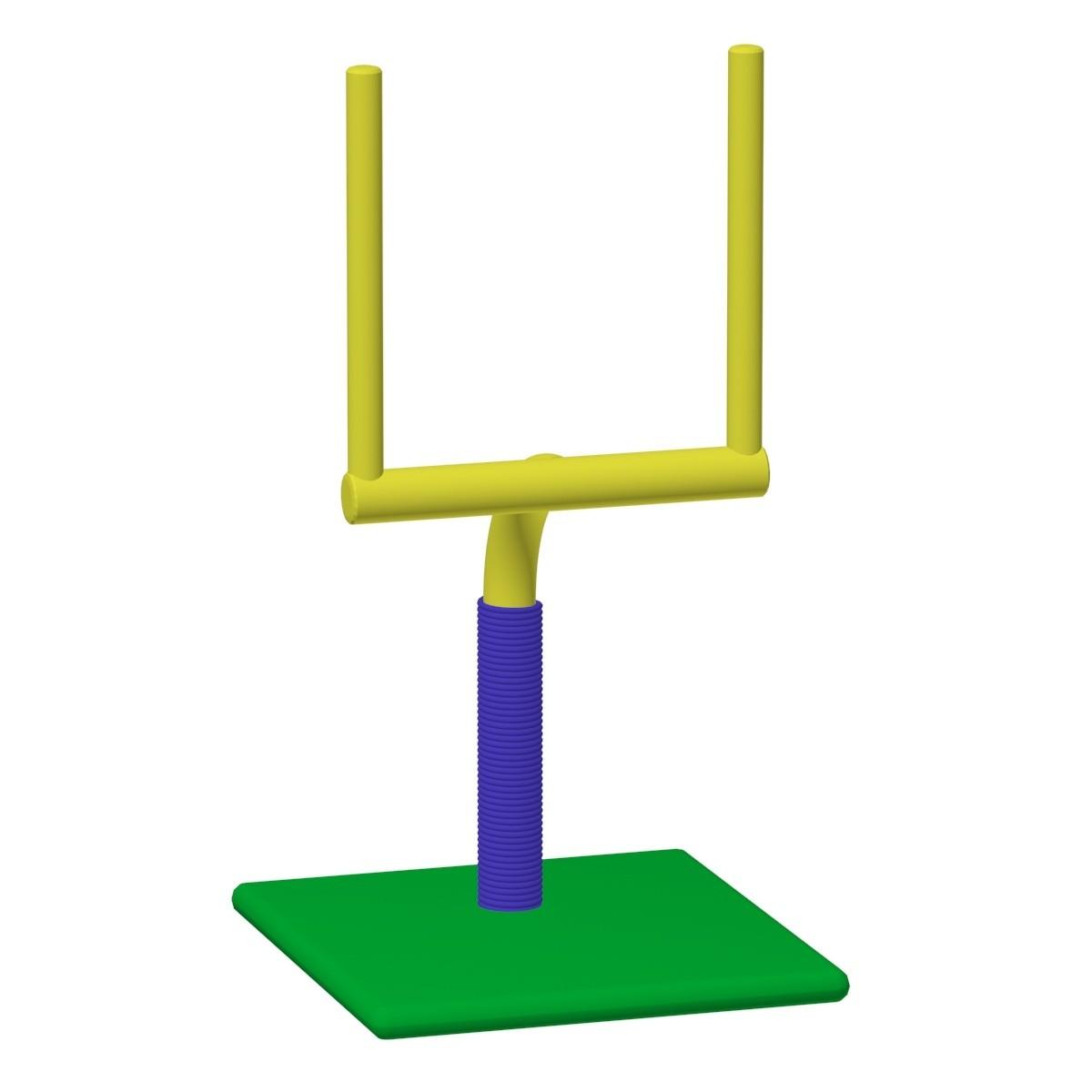 Field Goal Scratch Post