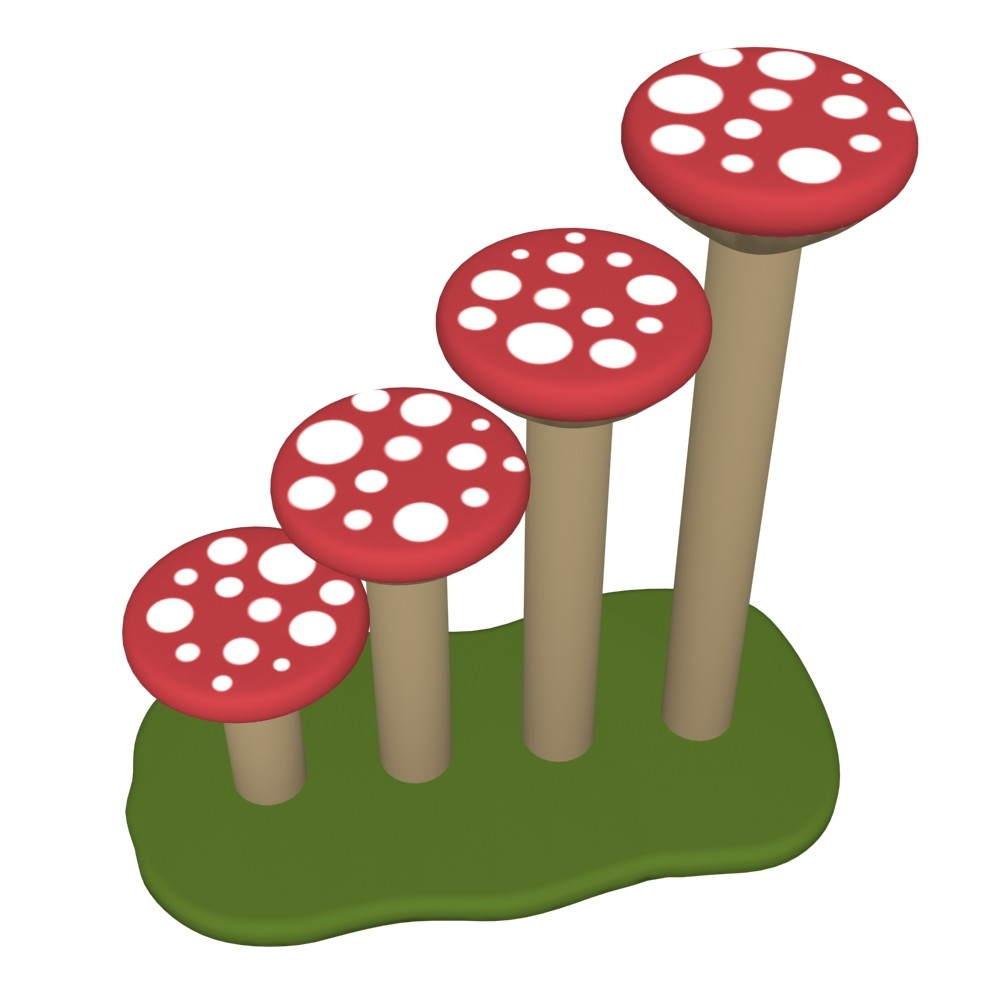Mushroom Staircase