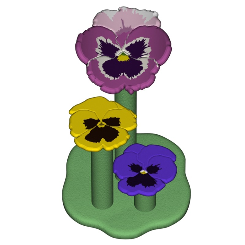 Pansy Perch