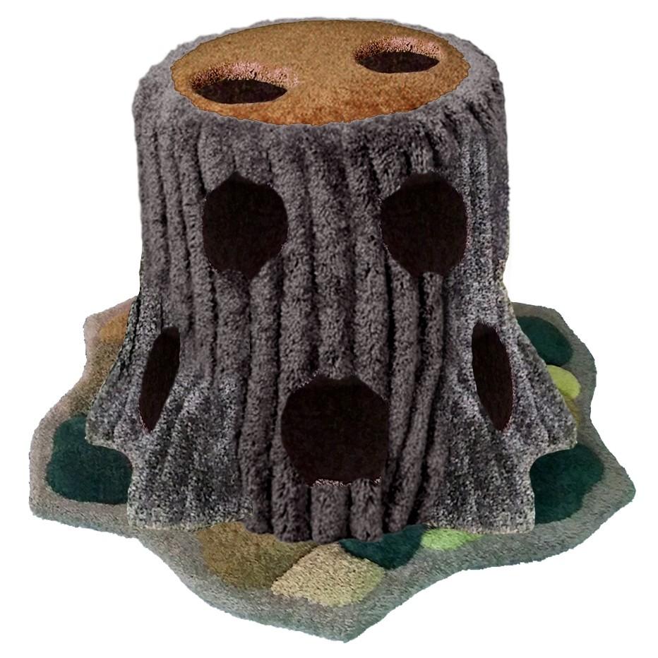 Enchanted Peek-A-Boo Stump