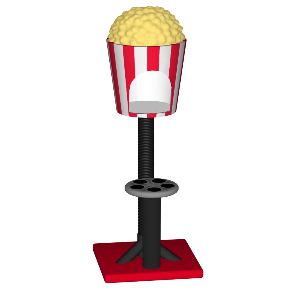 Popcorn Scratcher Tree