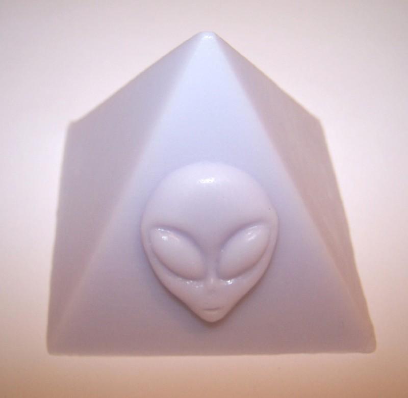 Alien Pyramid Soap
