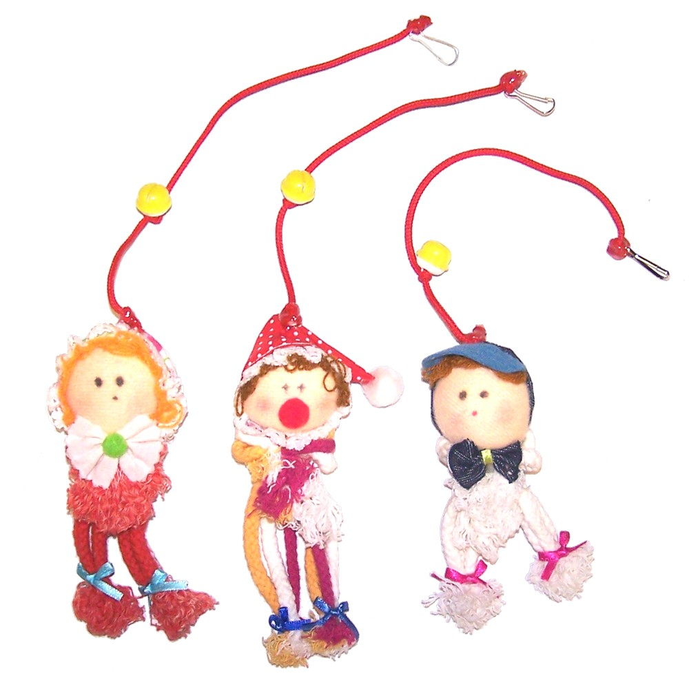 Rope Baby Clown Toy