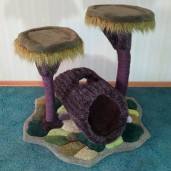 Enchanted Log & Tree Perch