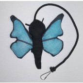 Butterfly Catnip Toy (Blue)