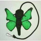 Butterfly Catnip Toy (Green)
