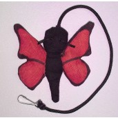 Butterfly Catnip Toy (Pink)