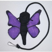 Butterfly Catnip Toy (Purple)