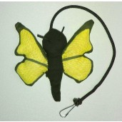 Butterfly Catnip Toy (Yellow)
