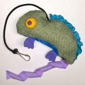 Crinkle Chameleon Catnip Toy