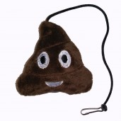 Emoji Poop Cat Toy