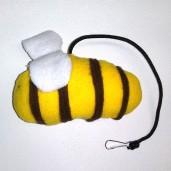 Honey Bee Catnip Toy