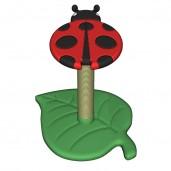 Ladybug Scratch Post