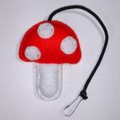 Mushroom Rattle Toy