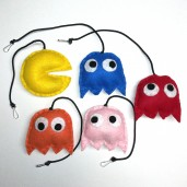 Pacman Cat Toy Set