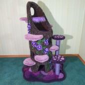 Enchanted Purple Passion Tree Stump Condo
