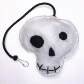 Skull Catnip Toy