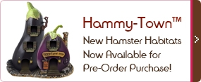 Hammy-Town Small Rodent Habitats Coming Soon!
