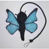 Butterfly Catnip Toy (Blue)