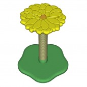 Chrysanthemum Scratch Post
