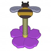 Bumble Bee Scratch Post