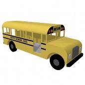 School Bus Kitty Condo