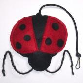 Ladybug Catnip Toy